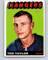1965-66 Topps #95 Ted Taylor  RC Rookie New York Rangers  V575
