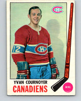 1969-70 O-Pee-Chee #6 Yvan Cournoyer  Montreal Canadiens  V1199