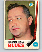 1969-70 O-Pee-Chee #12 Glenn Hall  St. Louis Blues  V1208