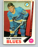 1969-70 O-Pee-Chee #14 Ron Anderson  RC Rookie St. Louis Blues  V1216