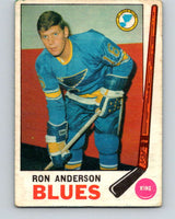 1969-70 O-Pee-Chee #14 Ron Anderson  RC Rookie St. Louis Blues  V1218