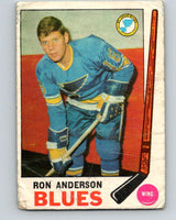 1969-70 O-Pee-Chee #14 Ron Anderson  RC Rookie St. Louis Blues  V1219