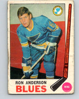 1969-70 O-Pee-Chee #14 Ron Anderson  RC Rookie St. Louis Blues  V1220
