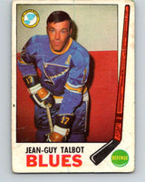 1969-70 O-Pee-Chee #15 Jean-Guy Talbot  St. Louis Blues  V1221