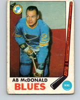 1969-70 O-Pee-Chee #18 Ab McDonald  St. Louis Blues  V1227