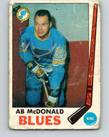 1969-70 O-Pee-Chee #18 Ab McDonald  St. Louis Blues  V1228