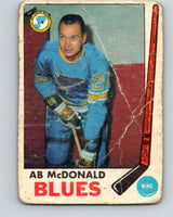 1969-70 O-Pee-Chee #18 Ab McDonald  St. Louis Blues  V1229