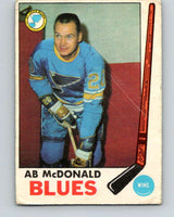 1969-70 O-Pee-Chee #18 Ab McDonald  St. Louis Blues  V1230