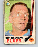 1969-70 O-Pee-Chee #20 Red Berenson  St. Louis Blues  V1236