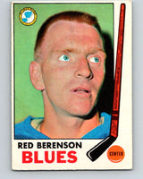 1969-70 O-Pee-Chee #20 Red Berenson  St. Louis Blues  V1237
