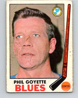 1969-70 O-Pee-Chee #21 Phil Goyette  St. Louis Blues  V1239