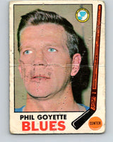 1969-70 O-Pee-Chee #21 Phil Goyette  St. Louis Blues  V1240