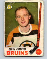 1969-70 O-Pee-Chee #22 Gerry Cheevers  Boston Bruins  V1241