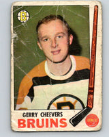 1969-70 O-Pee-Chee #22 Gerry Cheevers  Boston Bruins  V1243