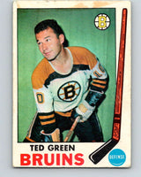 1969-70 O-Pee-Chee #23 Ted Green  Boston Bruins  V1244