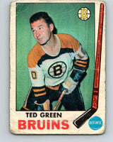 1969-70 O-Pee-Chee #23 Ted Green  Boston Bruins  V1245