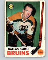 1969-70 O-Pee-Chee #25 Dallas Smith  Boston Bruins  V1247