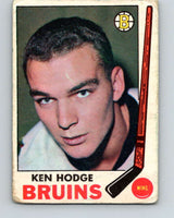 1969-70 O-Pee-Chee #27 Ken Hodge  Boston Bruins  V1252