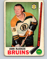1969-70 O-Pee-Chee #28 John McKenzie  Boston Bruins  V1254
