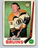 1969-70 O-Pee-Chee #28 John McKenzie  Boston Bruins  V1255