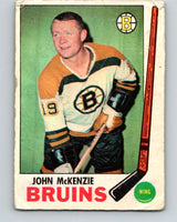 1969-70 O-Pee-Chee #28 John McKenzie  Boston Bruins  V1256