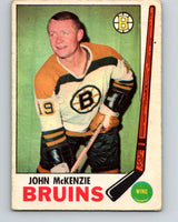 1969-70 O-Pee-Chee #28 John McKenzie  Boston Bruins  V1257