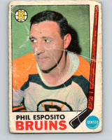 1969-70 O-Pee-Chee #30 Phil Esposito  Boston Bruins  V1260