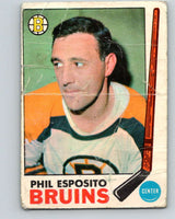 1969-70 O-Pee-Chee #30 Phil Esposito  Boston Bruins  V1261