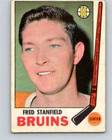 1969-70 O-Pee-Chee #32 Fred Stanfield  Boston Bruins  V1262