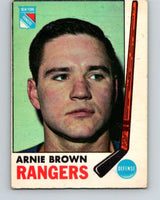 1969-70 O-Pee-Chee #34 Arnie Brown  New York Rangers  V1265