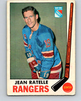 1969-70 O-Pee-Chee #42 Jean Ratelle  New York Rangers  V1281