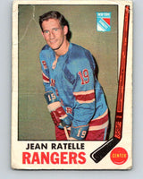 1969-70 O-Pee-Chee #42 Jean Ratelle  New York Rangers  V1282