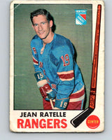 1969-70 O-Pee-Chee #42 Jean Ratelle  New York Rangers  V1283