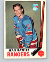 1969-70 O-Pee-Chee #42 Jean Ratelle  New York Rangers  V1284