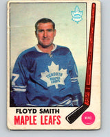 1969-70 O-Pee-Chee #49 Floyd Smith  Toronto Maple Leafs  V1304