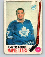 1969-70 O-Pee-Chee #49 Floyd Smith  Toronto Maple Leafs  V1305