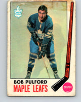 1969-70 O-Pee-Chee #52 Murray Oliver  Toronto Maple Leafs  V1314
