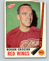 1969-70 O-Pee-Chee #55 Roger Crozier  Detroit Red Wings  V1318