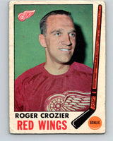 1969-70 O-Pee-Chee #55 Roger Crozier  Detroit Red Wings  V1319