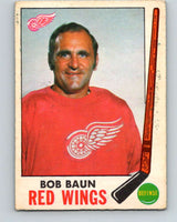 1969-70 O-Pee-Chee #57 Bob Baun  Detroit Red Wings  V1321