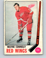 1969-70 O-Pee-Chee #60 Wayne Connelly  Detroit Red Wings  V1325