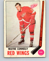 1969-70 O-Pee-Chee #60 Wayne Connelly  Detroit Red Wings  V1326