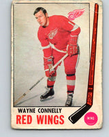 1969-70 O-Pee-Chee #60 Wayne Connelly  Detroit Red Wings  V1327