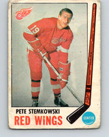 1969-70 O-Pee-Chee #65 Pete Stemkowski  Detroit Red Wings  V1337