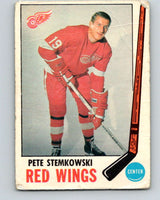 1969-70 O-Pee-Chee #65 Pete Stemkowski  Detroit Red Wings  V1340