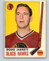1969-70 O-Pee-Chee #67 Doug Jarrett  Chicago Blackhawks  V1343