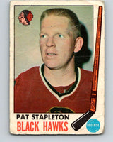 1969-70 O-Pee-Chee #69 Pat Stapleton  Chicago Blackhawks  V1347