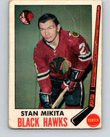 1969-70 O-Pee-Chee #76 Stan Mikita  Chicago Blackhawks  V1362