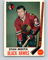1969-70 O-Pee-Chee #76 Stan Mikita  Chicago Blackhawks  V1363