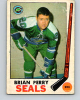 1969-70 O-Pee-Chee #84 Brian Perry  RC Rookie Oakland Seals  V1381